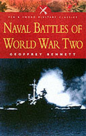 Naval Battles of World War II by Geoffrey Bennett image
