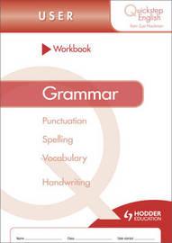 Quickstep English Workbook Grammar User Stage by Sue Hackman image