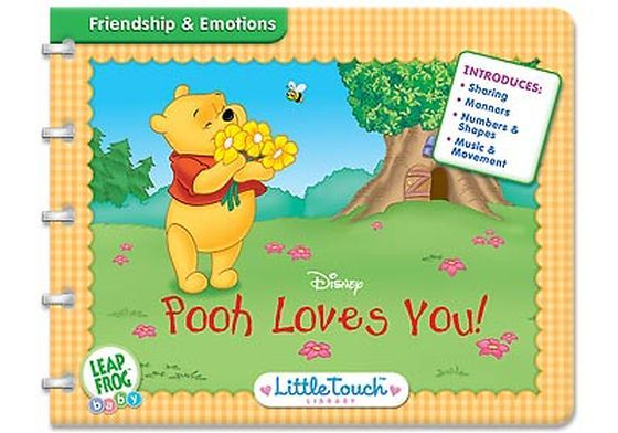 Little Touch Winnie The Pooh - Pooh Loves You