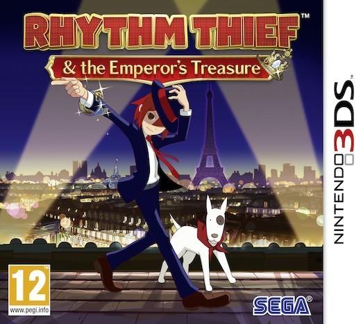 Rhythm Thief & the Emperor's Treasure for Nintendo 3DS