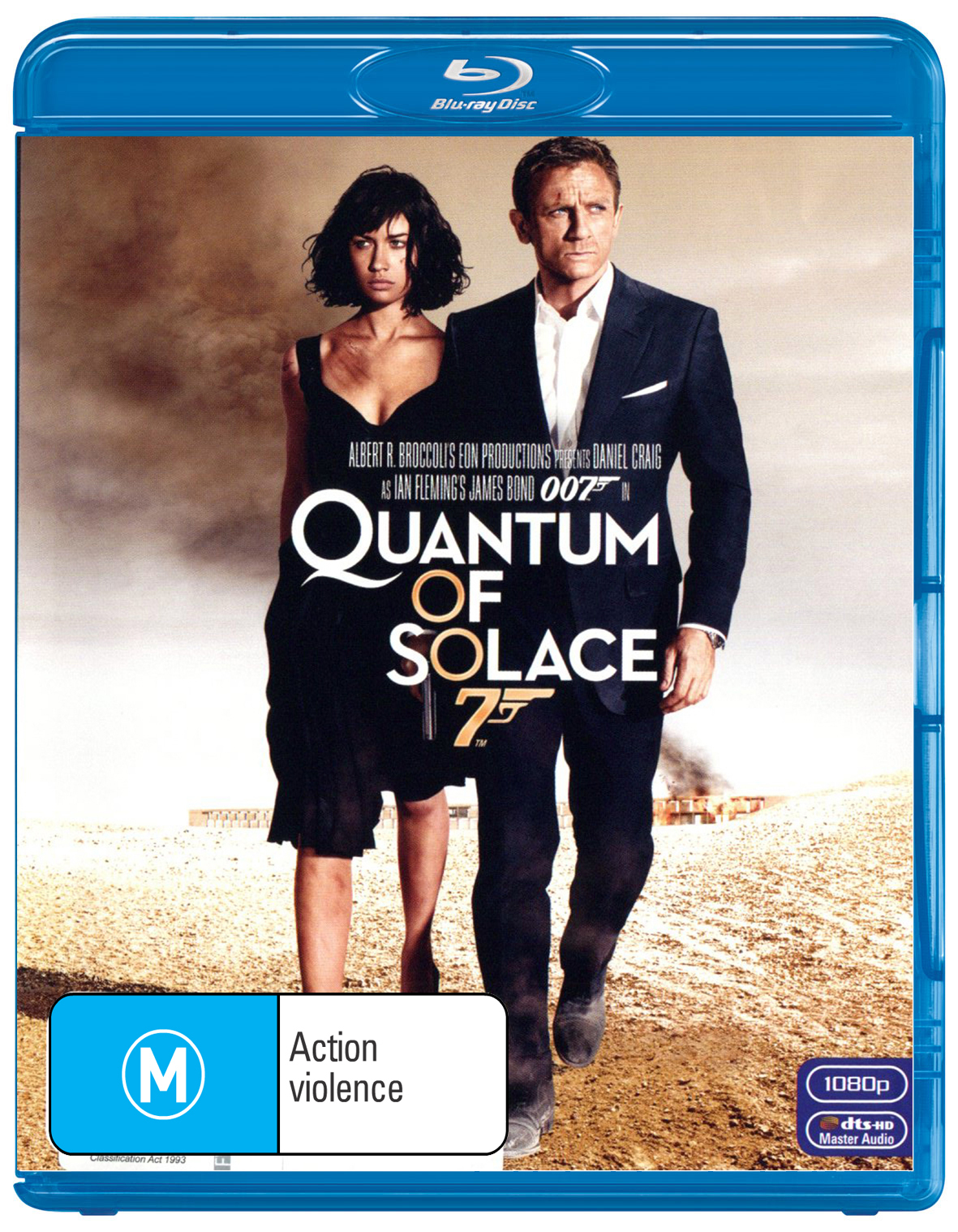 Quantum of Solace (2012 Version) on Blu-ray image