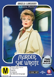 Murder, She Wrote: The Final Movies Collection DVD