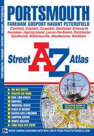 Portsmouth Street Atlas by Geographers A-Z Map Co Ltd