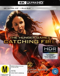 Hunger Games: Catching Fire on Blu-ray, UHD Blu-ray