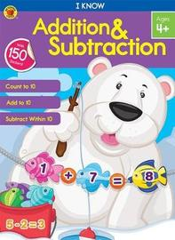I Know Addition & Subtraction by Brighter Child image