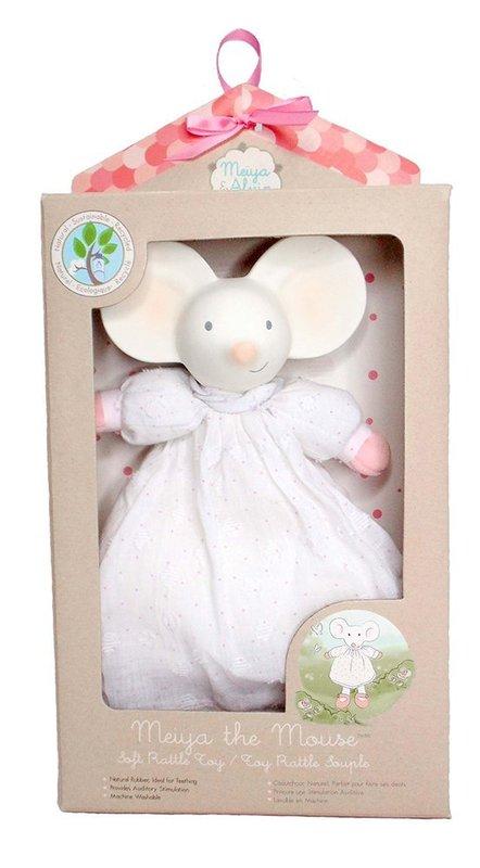 Meiya & Alvin: Meiya the Mouse - Soft Rattle