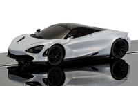 Scalextric McLaren 720S Slot Car (Glacier White)