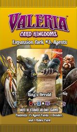 Valeria: Card Kingdoms Expansion Pack 3 - Agents