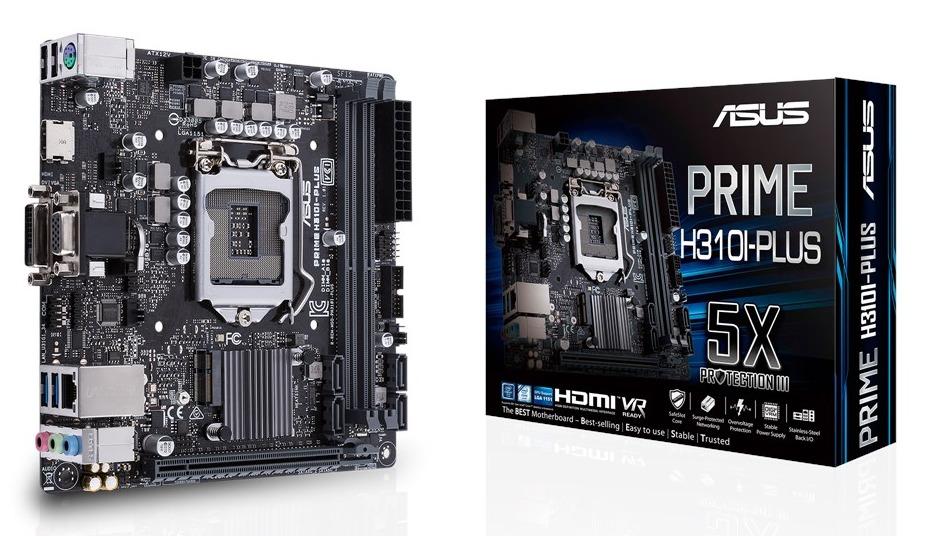 ASUS PRIME H310I-PLUS Motherboard image