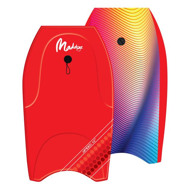 "Maddog: Speed - 44"" Bodyboard (Red)"