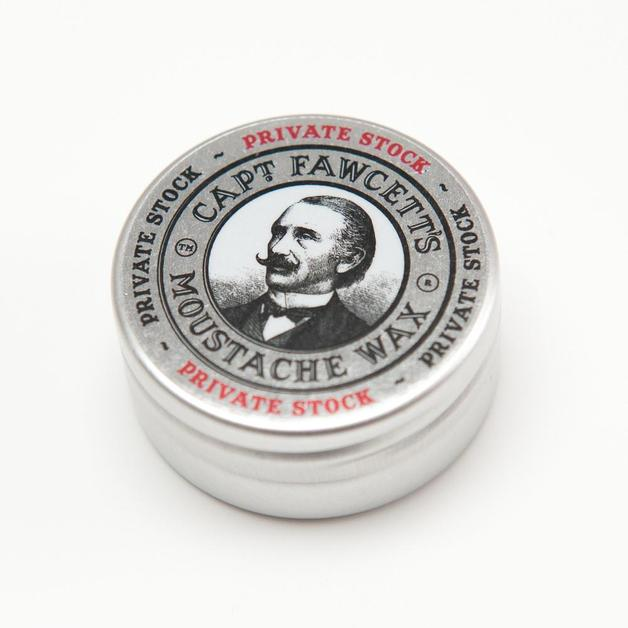 Captain Fawcett Moustache Wax - Private Stock (15ml)