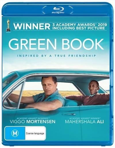 Green Book on Blu-ray