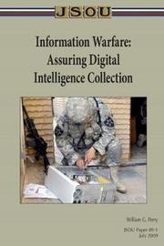 Information Warfare by William G Perry image