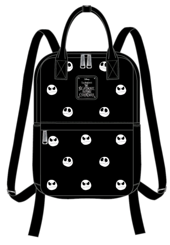Loungefly: The Nightmare Before Christmas Embroidered Backpack - Jack Head
