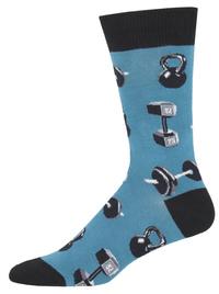Socksmith: Mens Do You Even Lift, Bro? - Blue