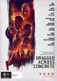 Dragged Across Concrete on DVD