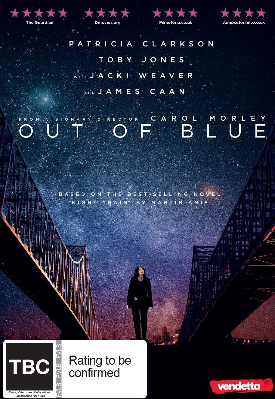 Out of Blue on DVD image