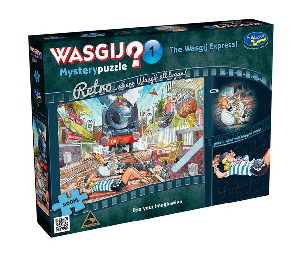 Wasgij XL: 500 Piece Puzzle - Retro Mystery (The Wasgij Express)