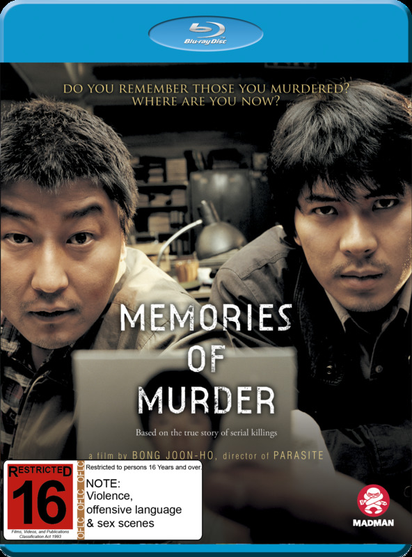 Memories Of Murder on Blu-ray