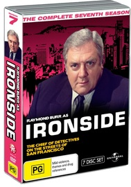 Ironside - Season 7 Fatpack Version on DVD image