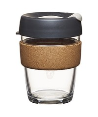 KeepCup Medium - Soft Charcoal Black (12oz – 340ml)
