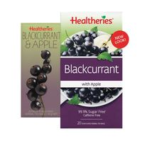 Healtheries Blackcurrent with Apple Tea (Pack of 20)