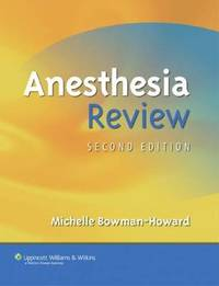 Anesthesia Review by Michelle Bowman-Howard image