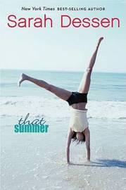That Summer by Sarah Dessen image