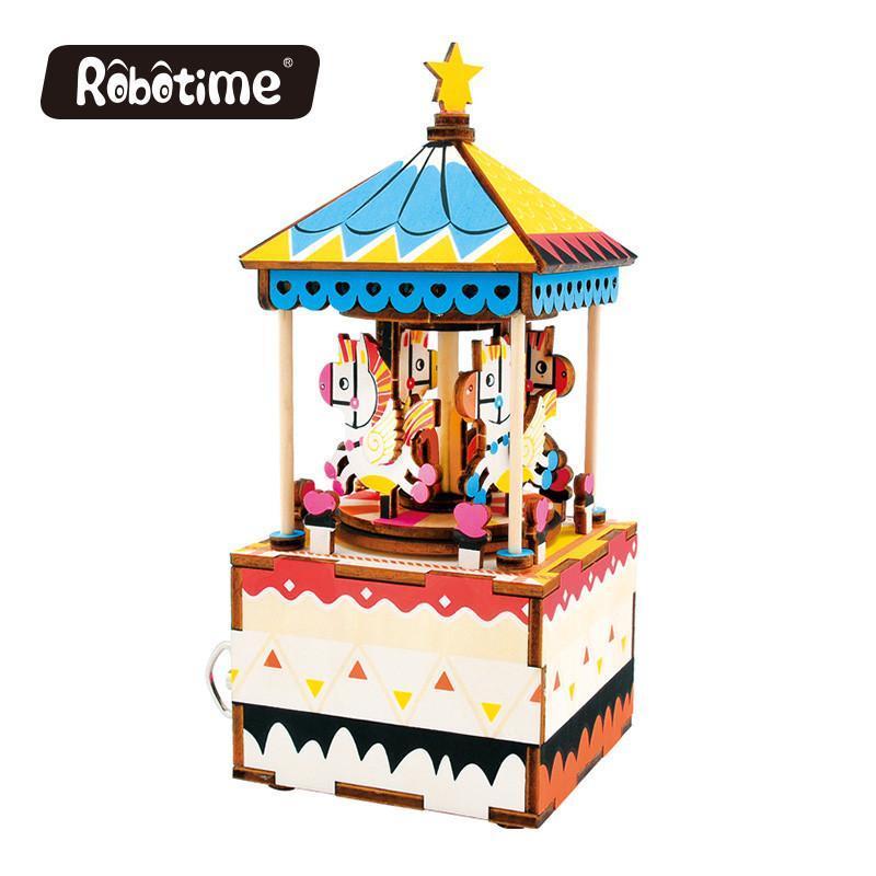 Robotime: Merry go round image