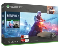 Xbox One X Battlefield V Gold Rush Special Edition Bundle for Xbox One