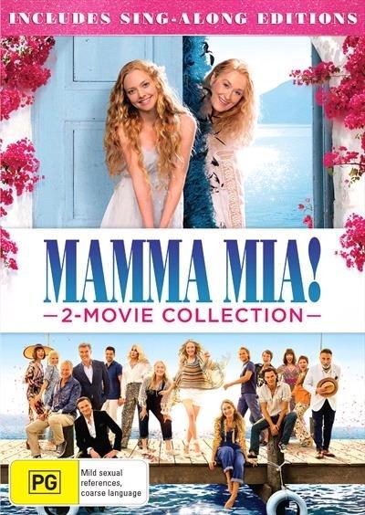 Mamma Mia & Mamma Mia: Here We Go Again! on DVD