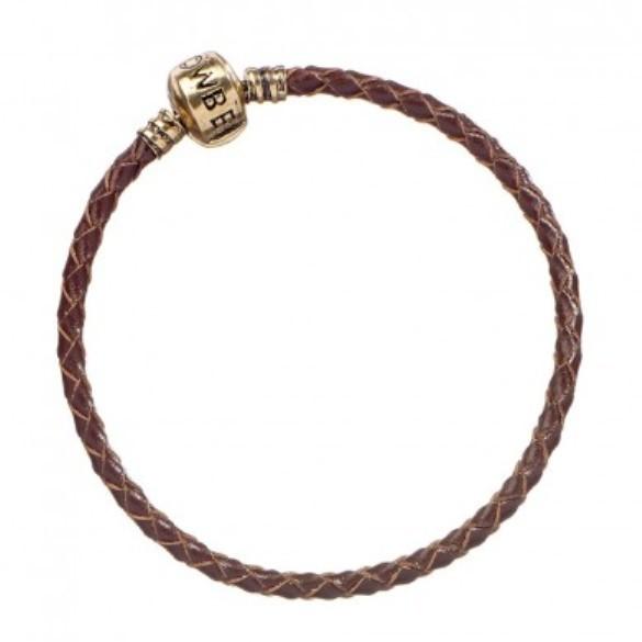 Fantastic Beasts: Brown Leather Charm Bracelet 20cm