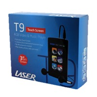 Laser Media Player T9 8GB 3 TFT LCD Touch Screen image