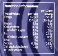Fray Bentos Chicken & Mushroom 'Deep Fill' Pie (475g) image