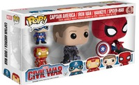 Captain America: Civil War - Pop! Vinyl 4-Pack