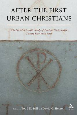 After the First Urban Christians by Todd D. Still image