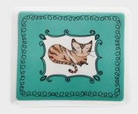 Maxwell & Williams: Purrfect Rectangular Plate - Teal (14cm)