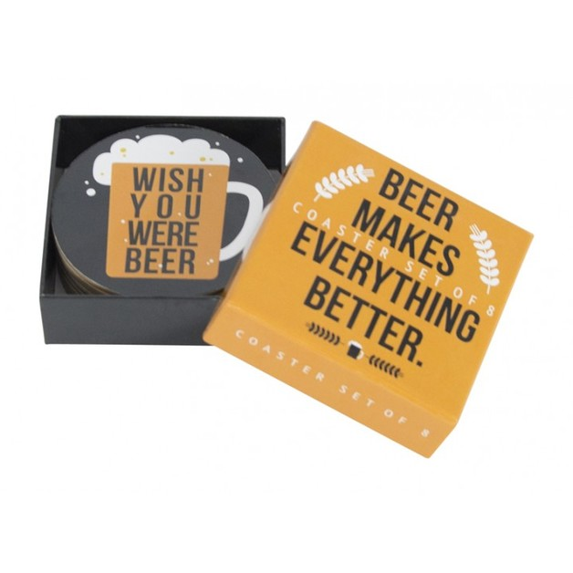Annabel Trends Coasters - Beer (Set of 8)