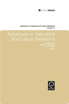 Advances in Industrial and Labor Relations image