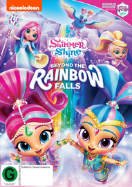 Shimmer and Shine: Beyond the Rainbow Falls on DVD