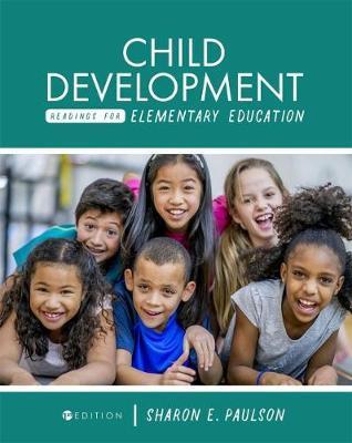 Child Development Readings for Elementary Education by Sharon E Paulson image