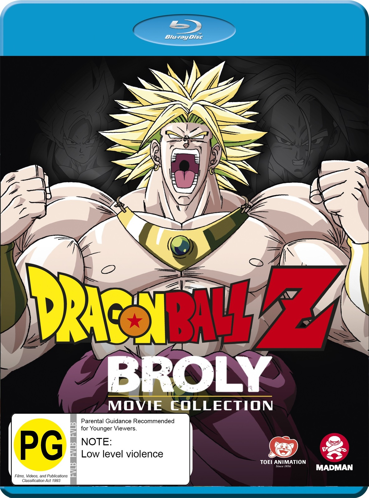 Dragon Ball Z: Broly Movie Collection on Blu-ray image