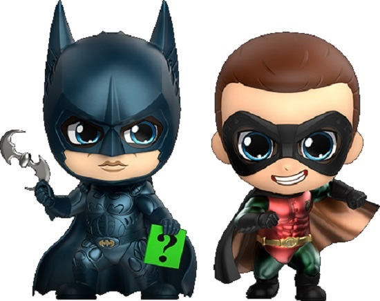 Batman: Forever - Batman & Robin - Cosbaby Set