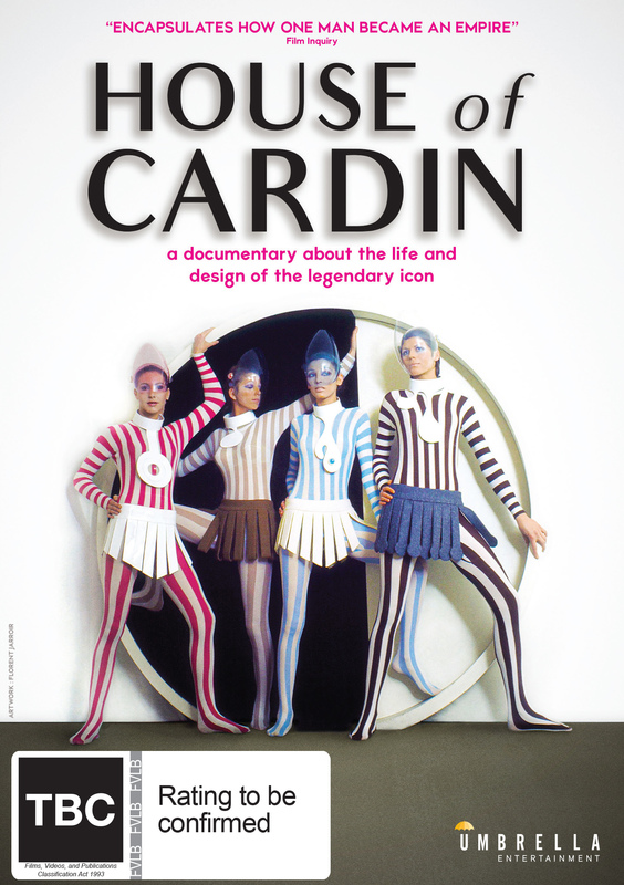 House Of Cardin on DVD