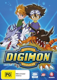 Digimon: Digital Monsters (1999) Collection 2 on DVD image