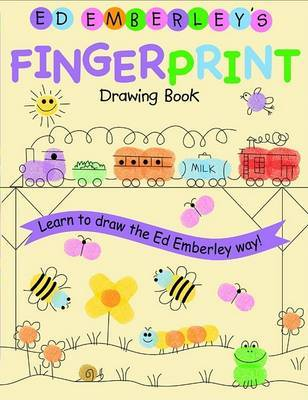 Ed Emberley Fingerprint Drawing Book by Ed Emberley image