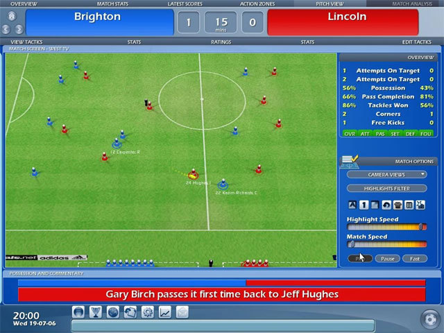 Championship Manager 2007 for X360 image