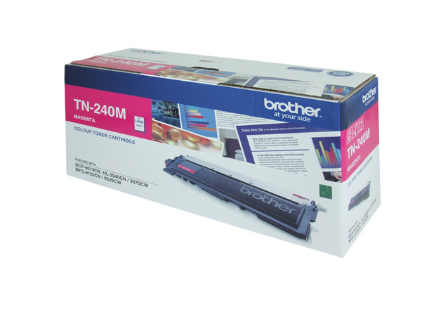 Brother TN-240M Toner (Magenta)