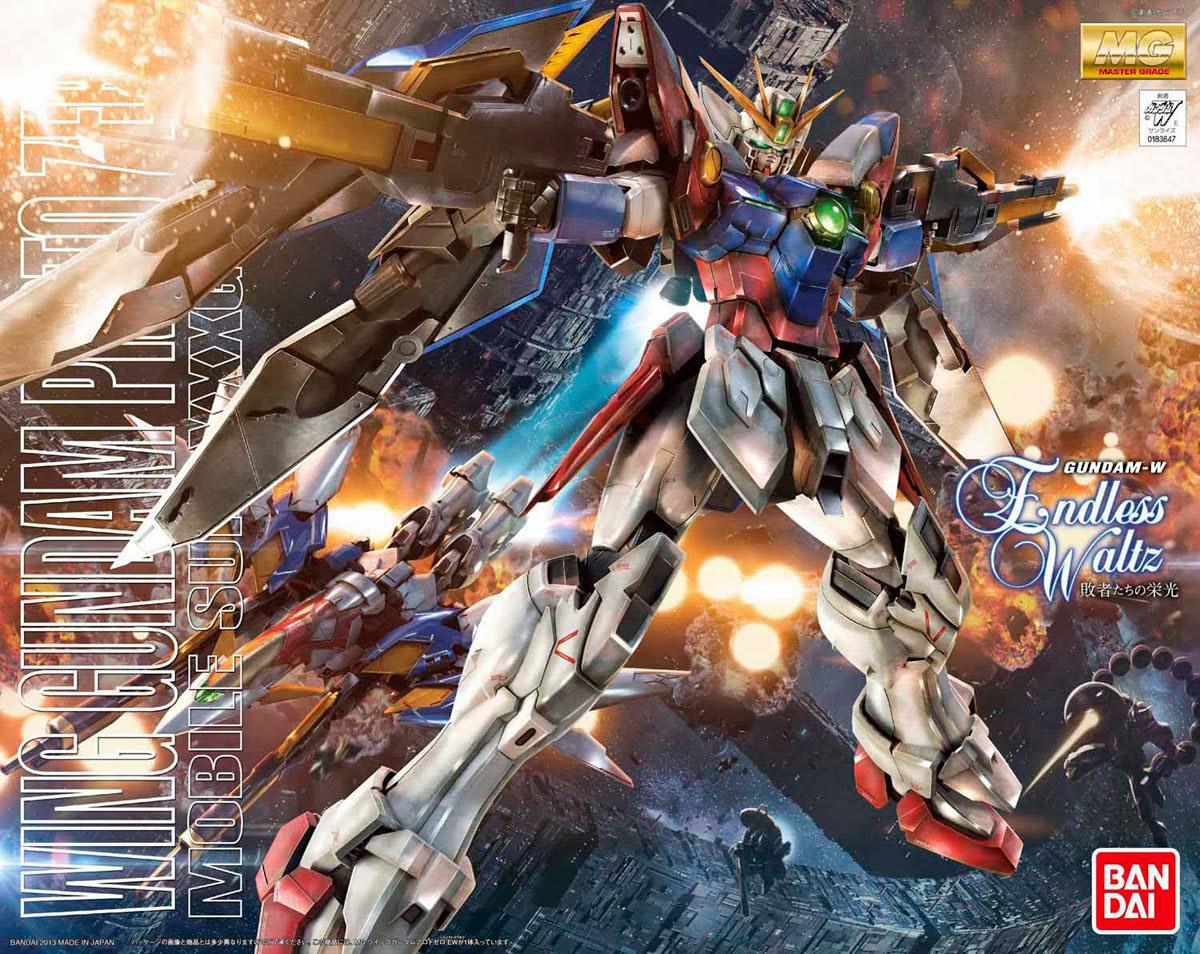 MG Wing Gundam Proto Zero EW Ver. 1/100 Model Kit image
