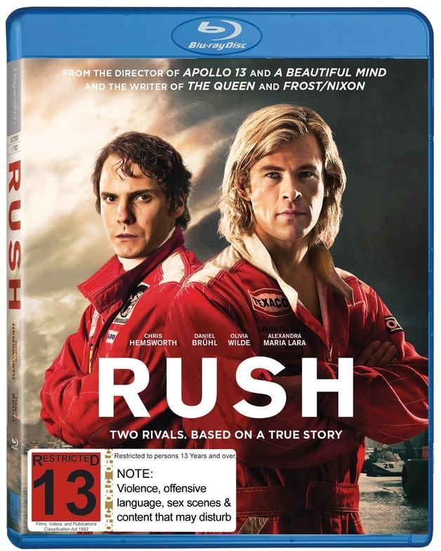 Rush on Blu-ray